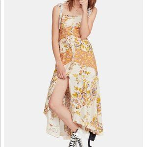 Free People Lover Boy Maxi Dress light combo